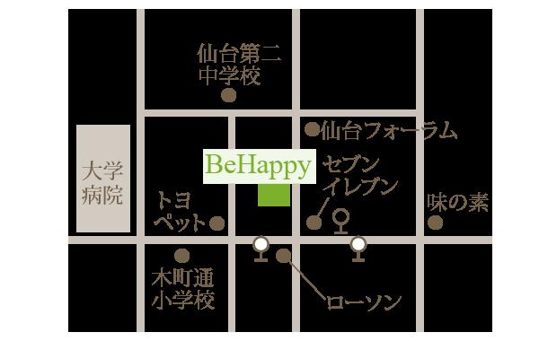 BeHappy地図